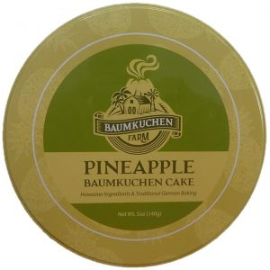 Pineapple Baumkuchen