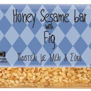 Honig Sesam Riegel mit Feigen aus Griechenland Pasteli