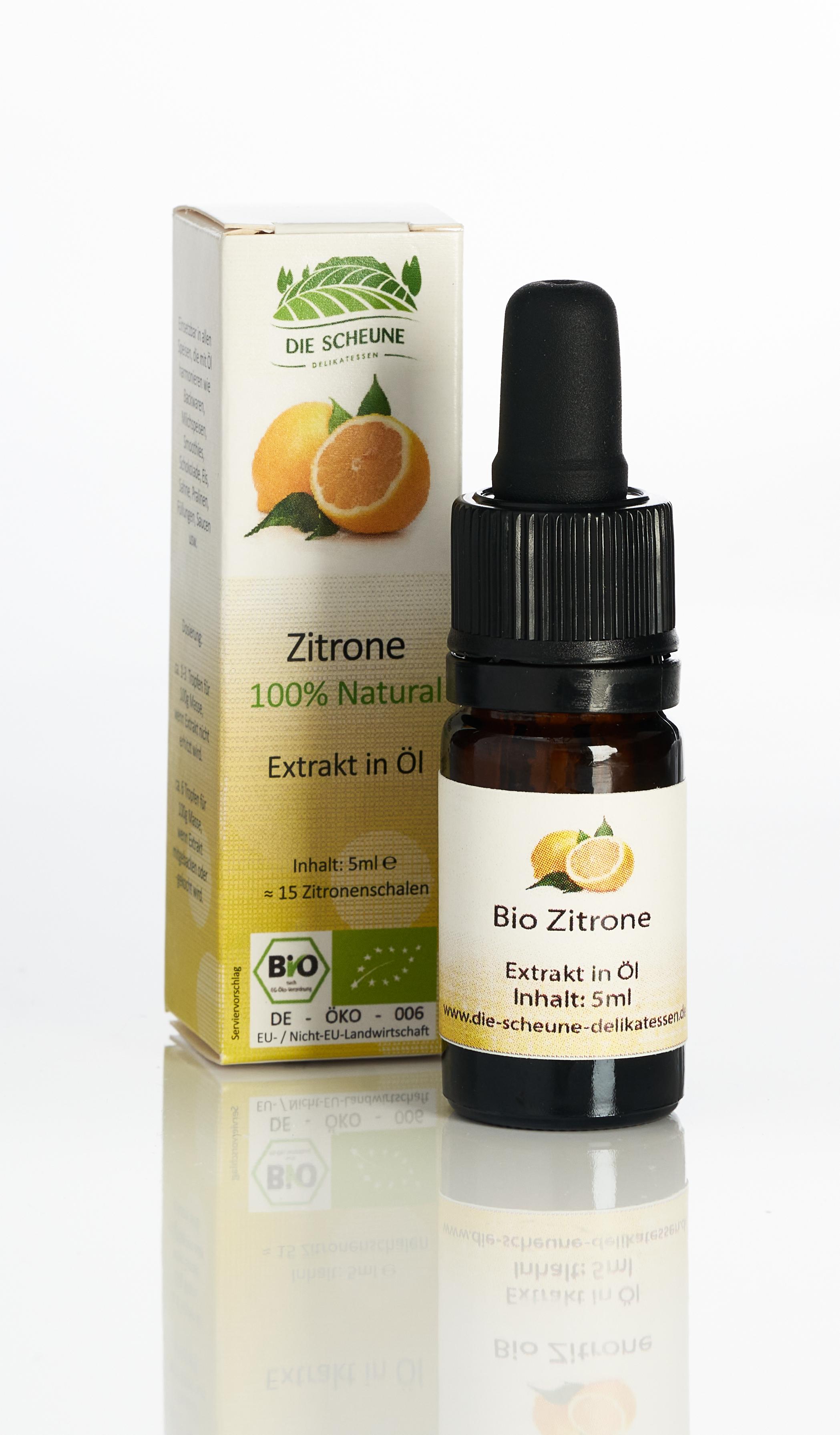 Bio Zitronen Aroma