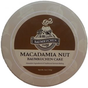 Macadamia Nuss Baumkuchen aus Hawaii