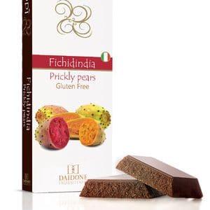 Schokolade mit Kaktusfeigen